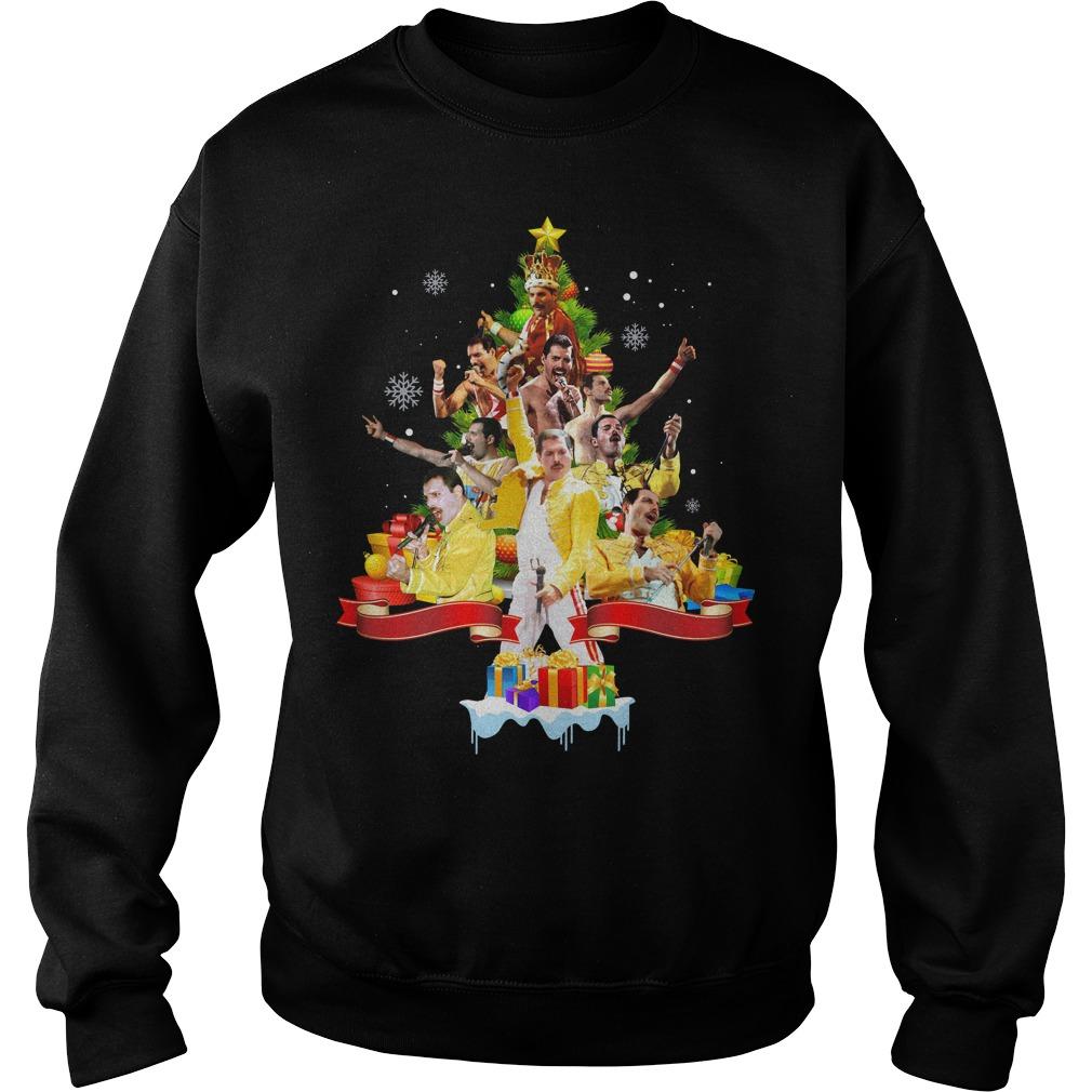 Freddie Mercury Christmas tree Sweater
