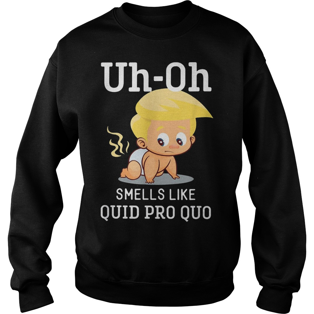 Funny Anti Trump Baby Quid Pro Quo Impeachment Sweater
