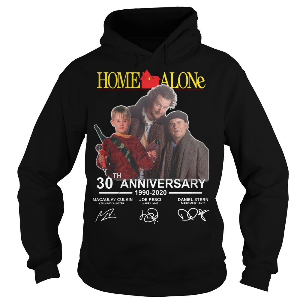 Home Alone 30th Anniversary 1990 2020 Signatures Hoodie