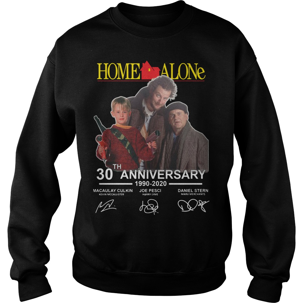Home Alone 30th Anniversary 1990 2020 Signatures Sweater