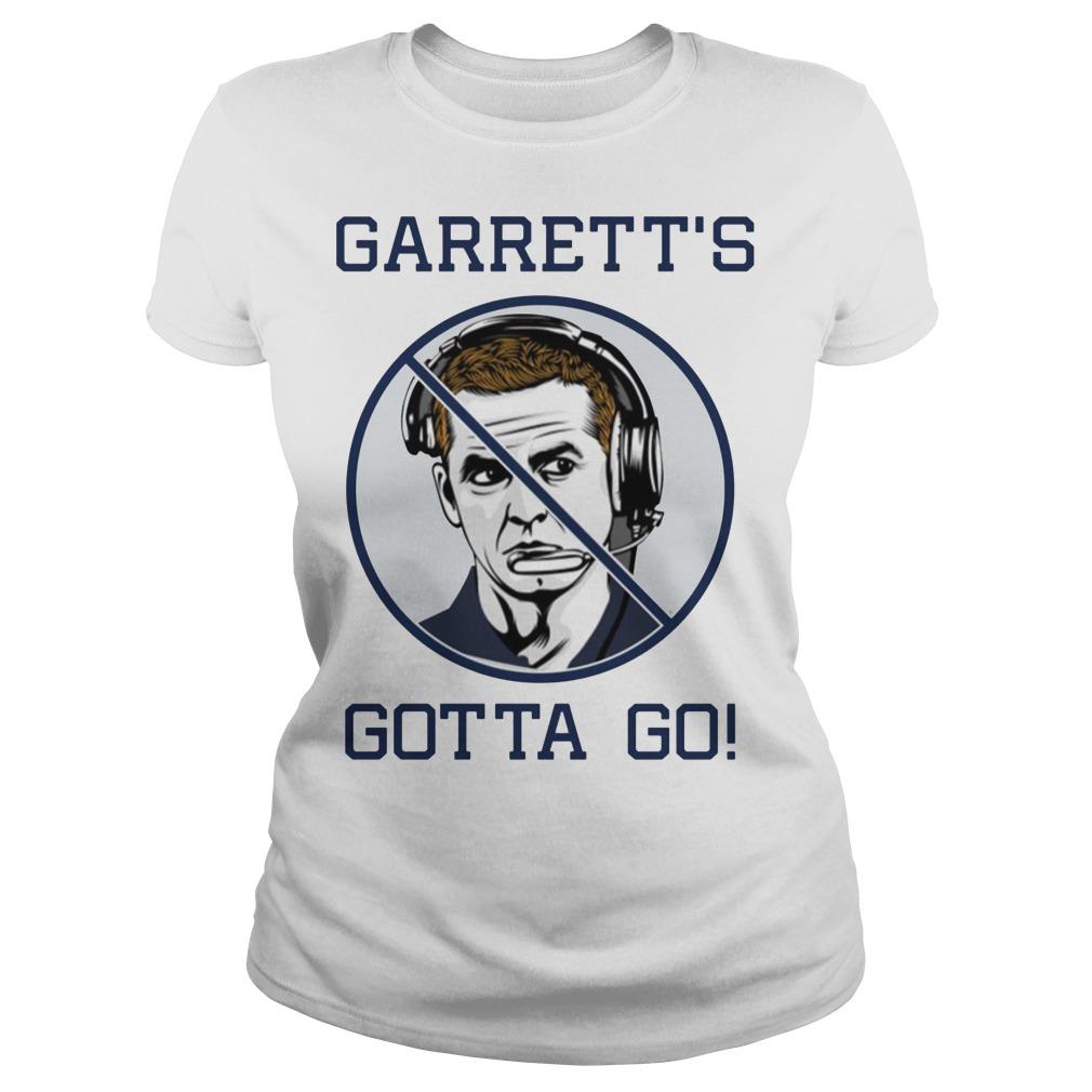 Jason Garrett's Gotta Go Ladies Shirt
