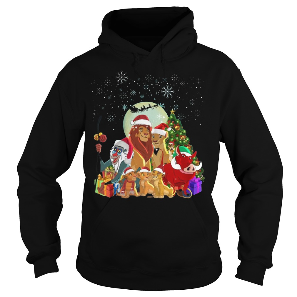 Lion King Family Merry Christmas Hoodie