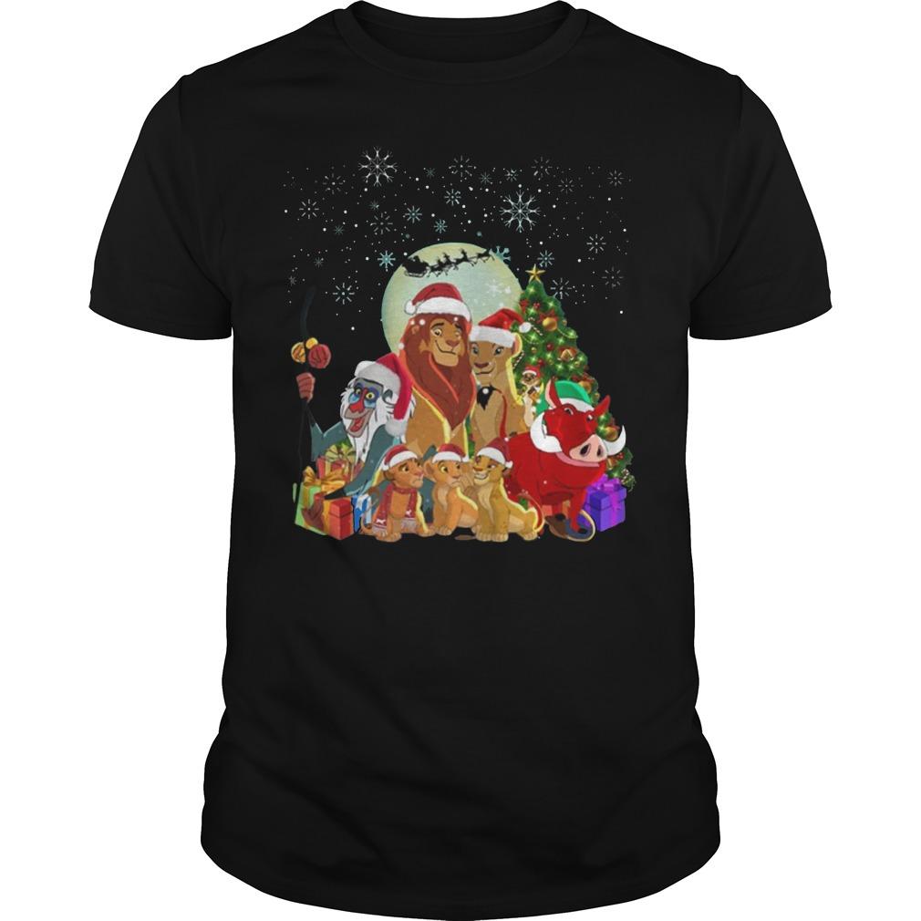 Lion King Family Merry Christmas shirt