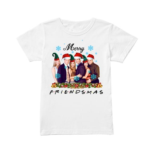 Merry Friendsmas Christmas Ladiesshirt
