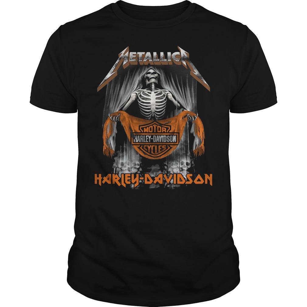 Metallic Motor Harley Davidson Cycles shirt