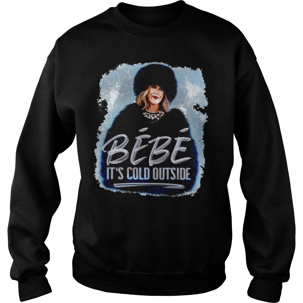 Moira Rose BeBe It's cold outside Sweater