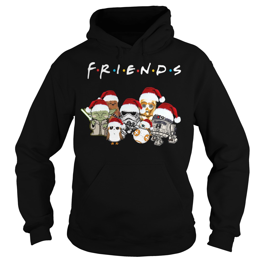 Star Wars Friends Christmas Santa hat Hoodie