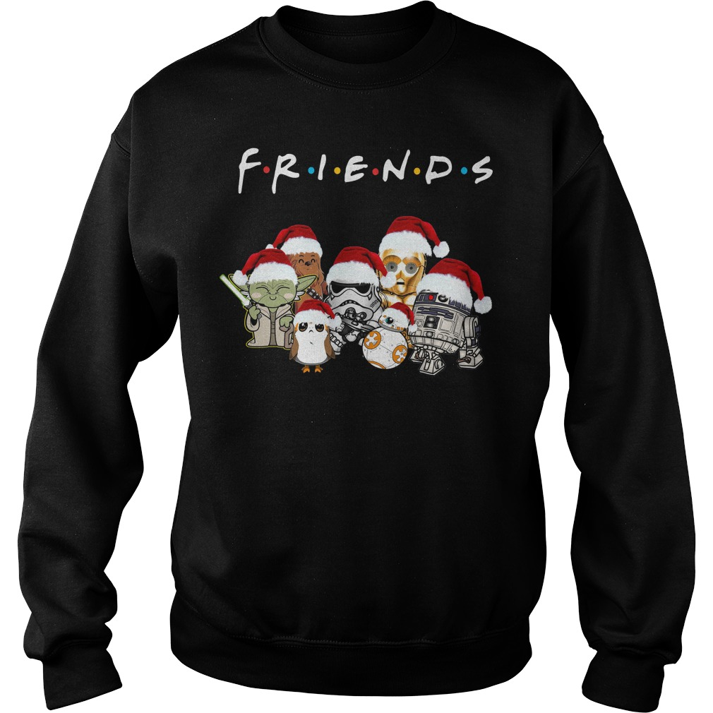 Star Wars Friends Christmas Santa hat Sweater