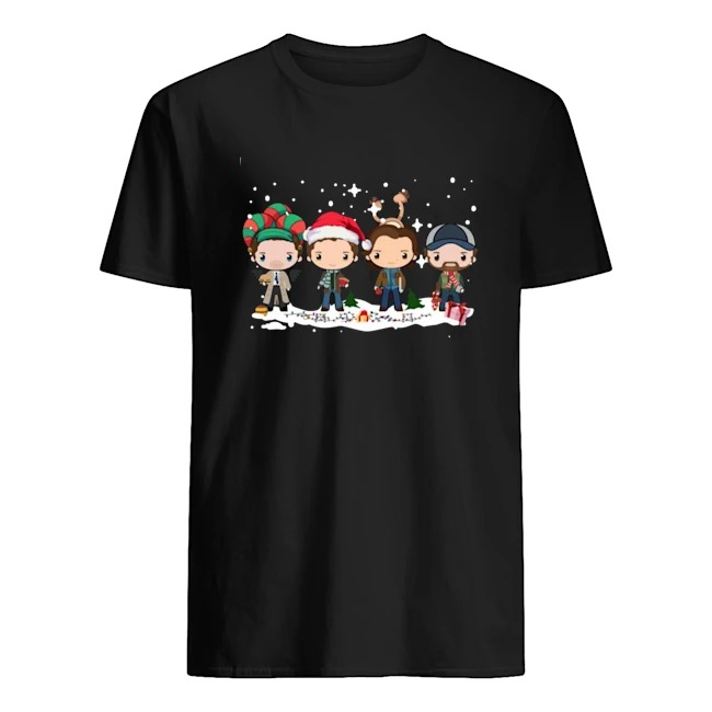 Supernatural Winchester Chibi Christmas 2020 shirt