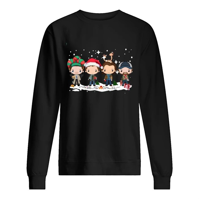 Supernatural Winchester Chibi Christmas 2020 Sweater