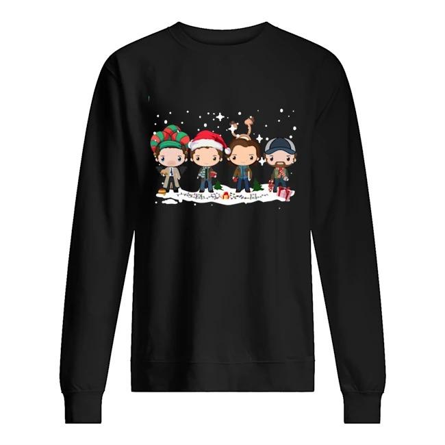 Supernatural Winchester Chibi Christmas 2020 Sweater