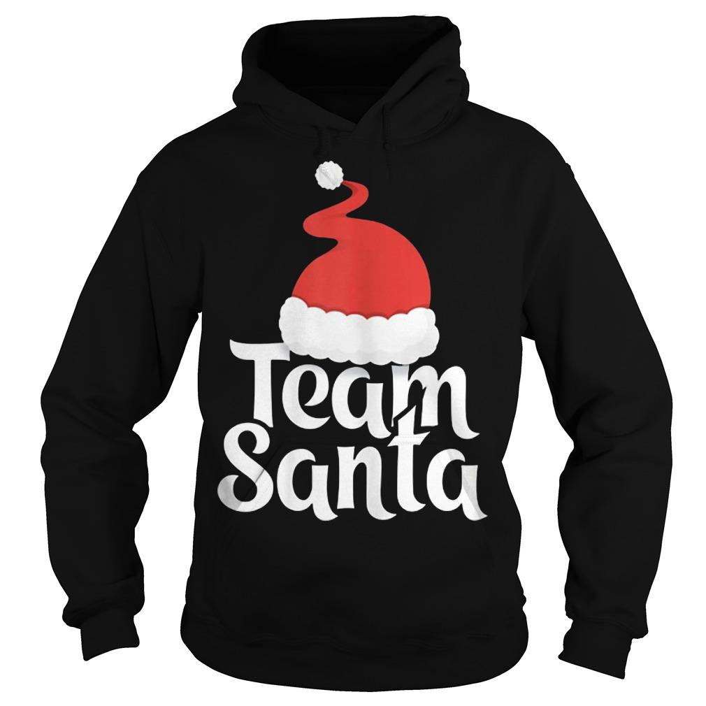 Team Santa Christmas Family Matching Pajama Hoodie