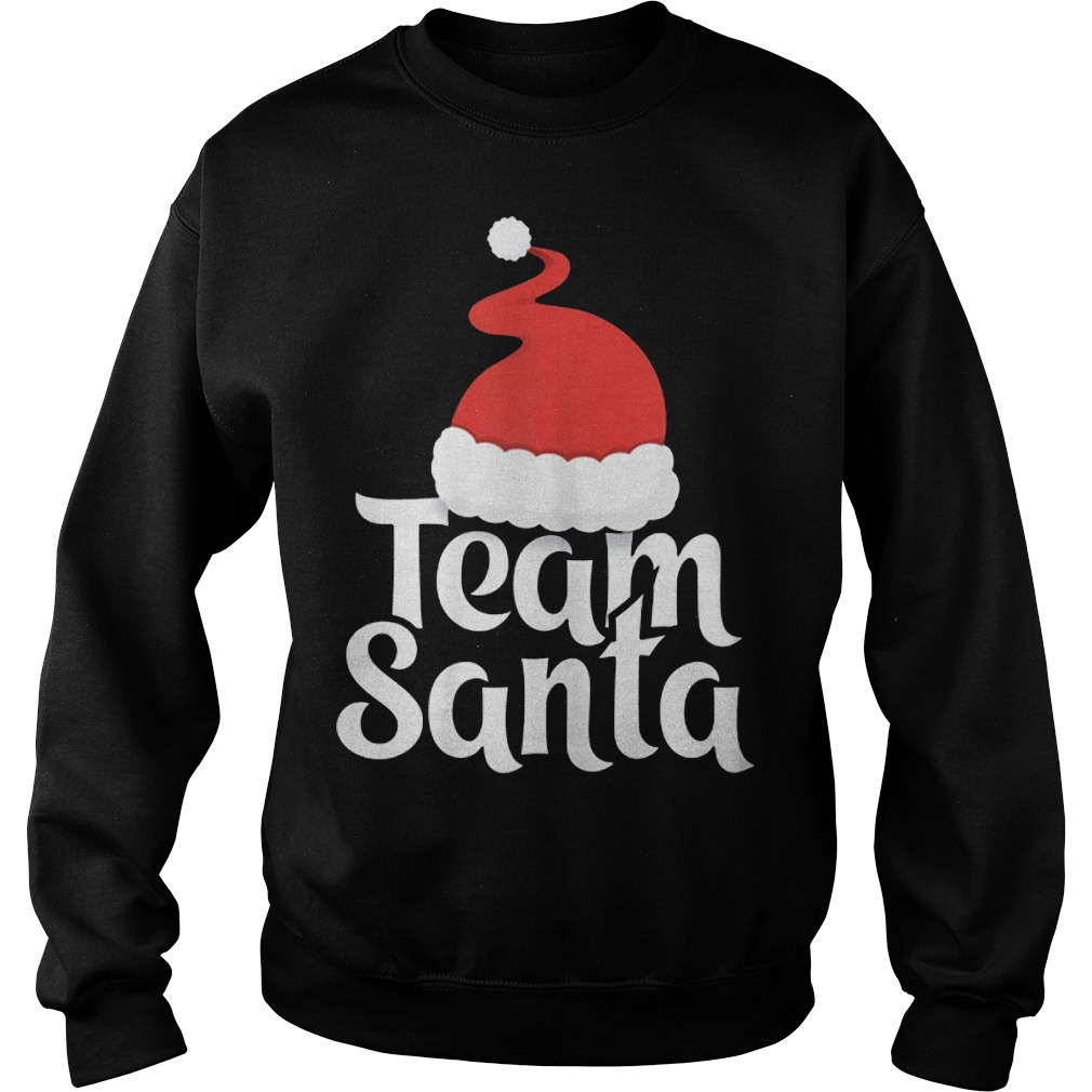 Team Santa Christmas Family Matching Pajama Sweater