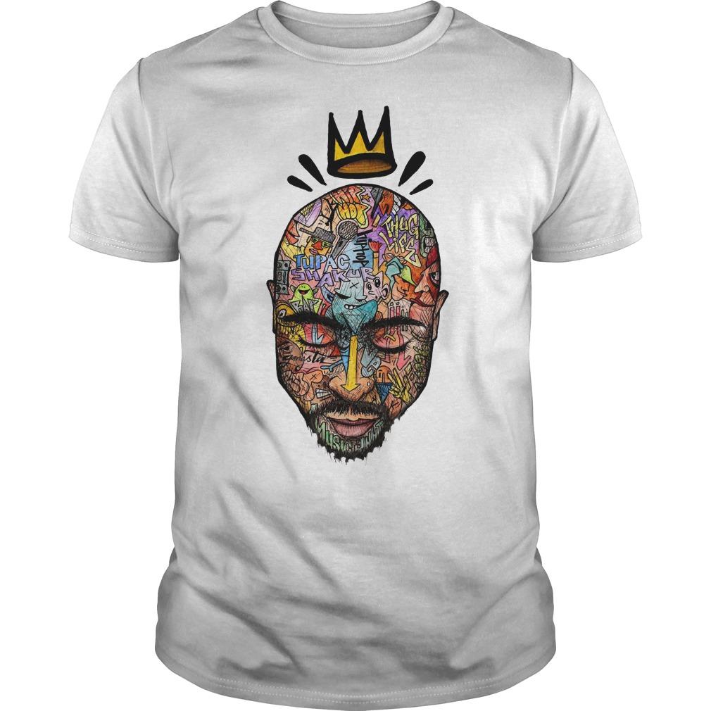 Tupac Shakur Hip Hop King shirt