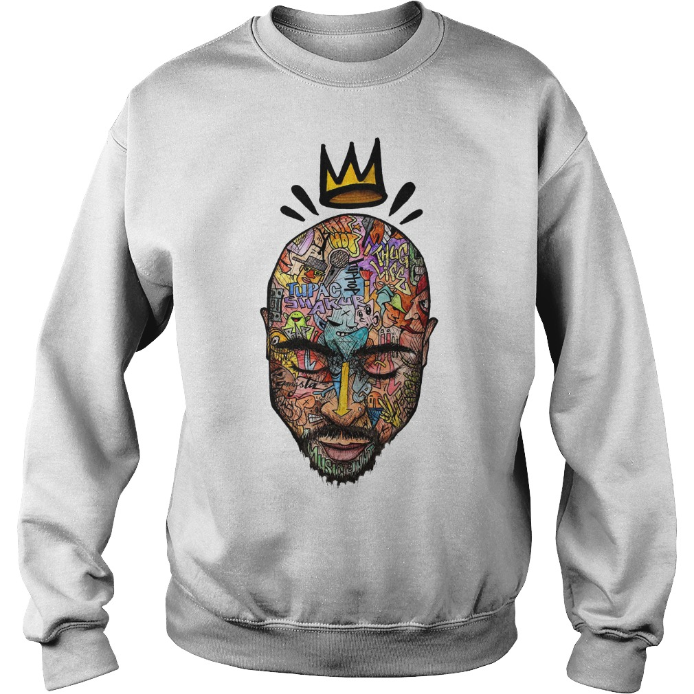Tupac Shakur Hip Hop King Sweater