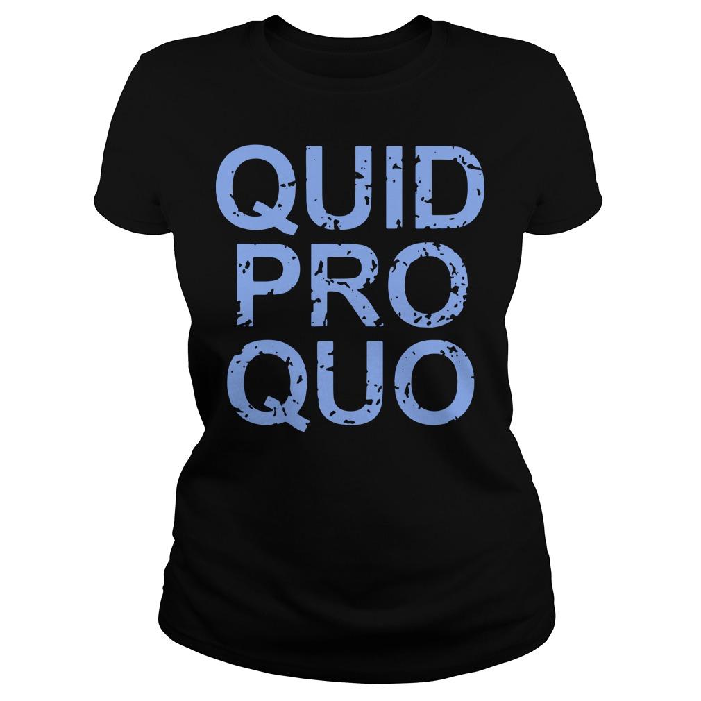 Vintage Quid Pro Quo Tee Ladies Shirt