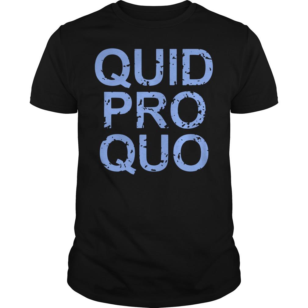 Vintage Quid Pro Quo Shirt