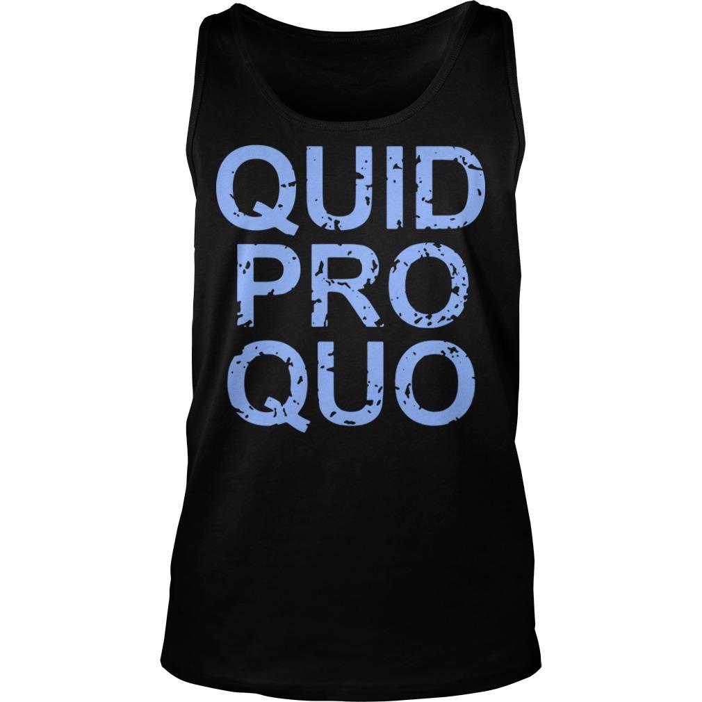 Vintage Quid Pro Quo Tee Tank Top