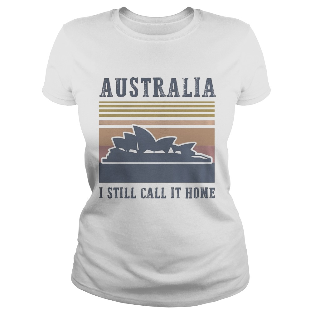 Australia I still call it home vintage retro Classic Ladies