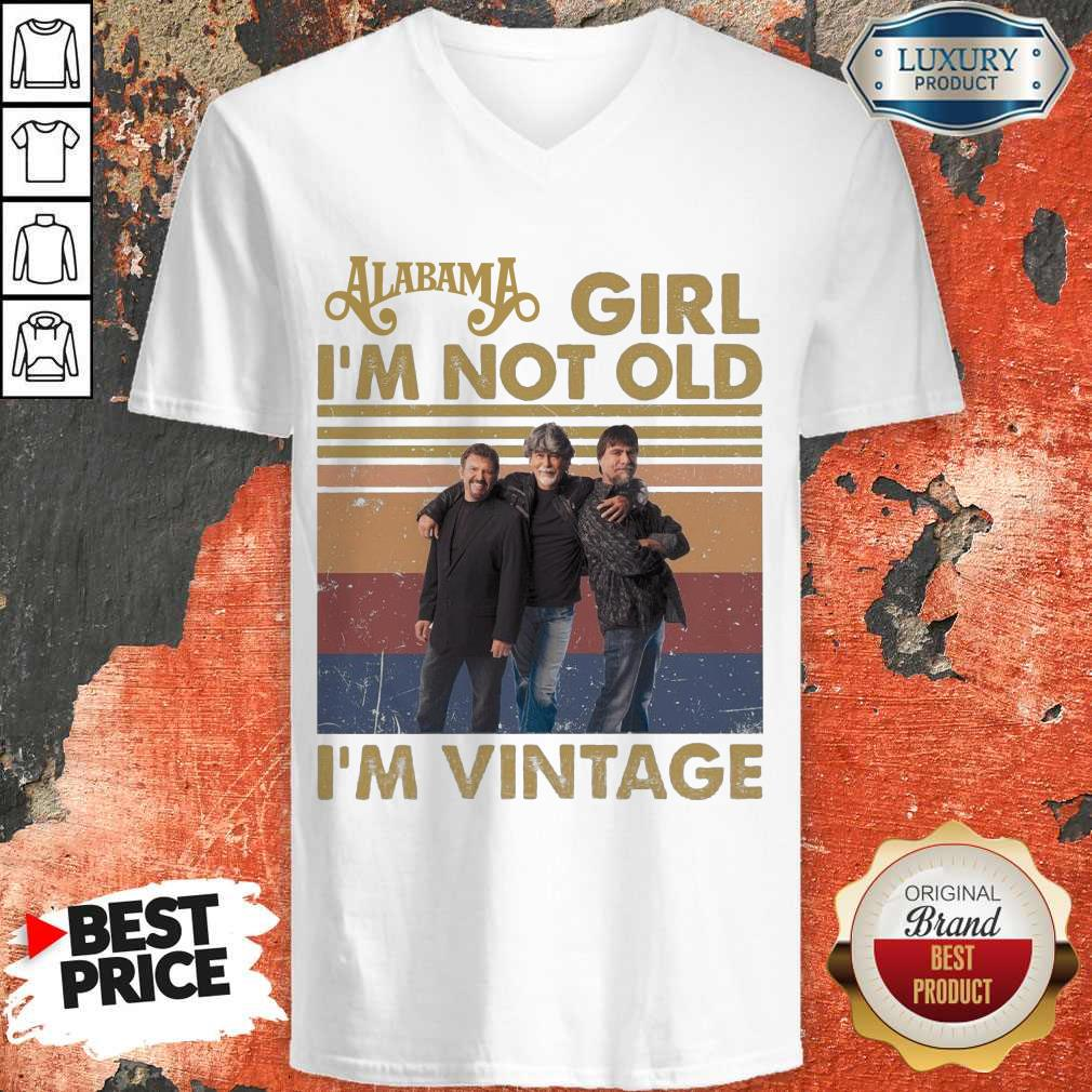 Awesome Alabama Girl I'm Not Old I'm Vintage V-neck