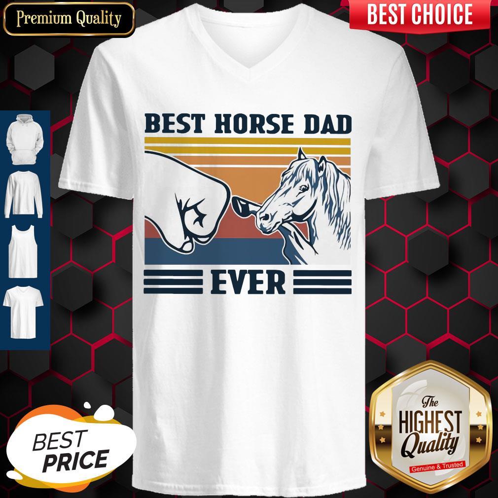 Awesome Best Horse Đa Ever Vintage V-neck