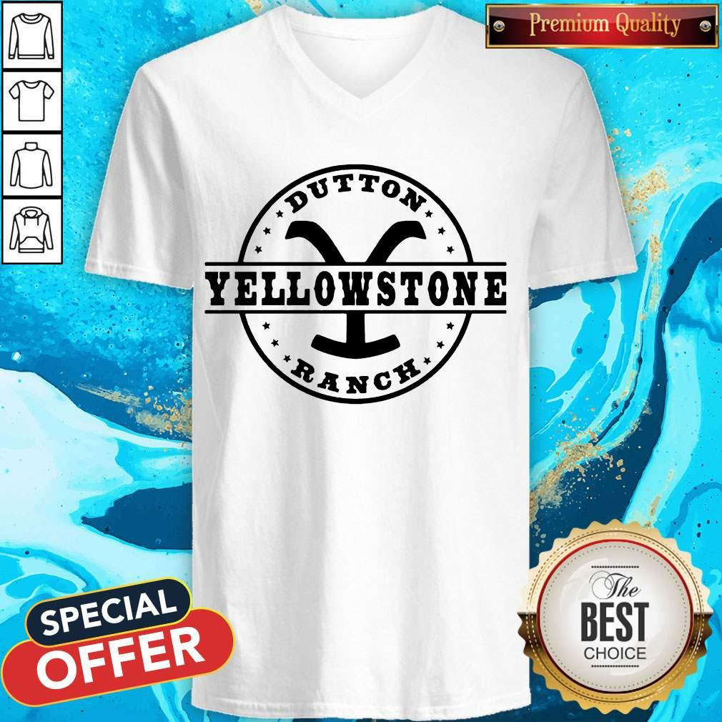 Awesome Dutton Yellowstone Ranch V-neck