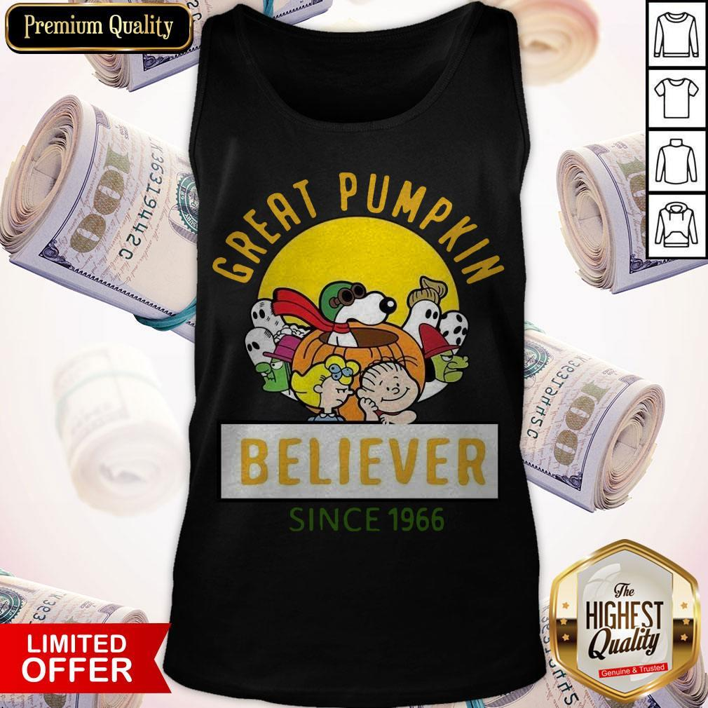 Awesome Great Pumpkin Believer Since 1966 Tank Top