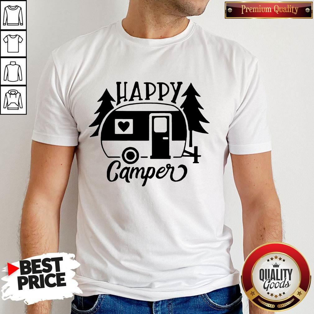 Awesome Happy Camper Shirt