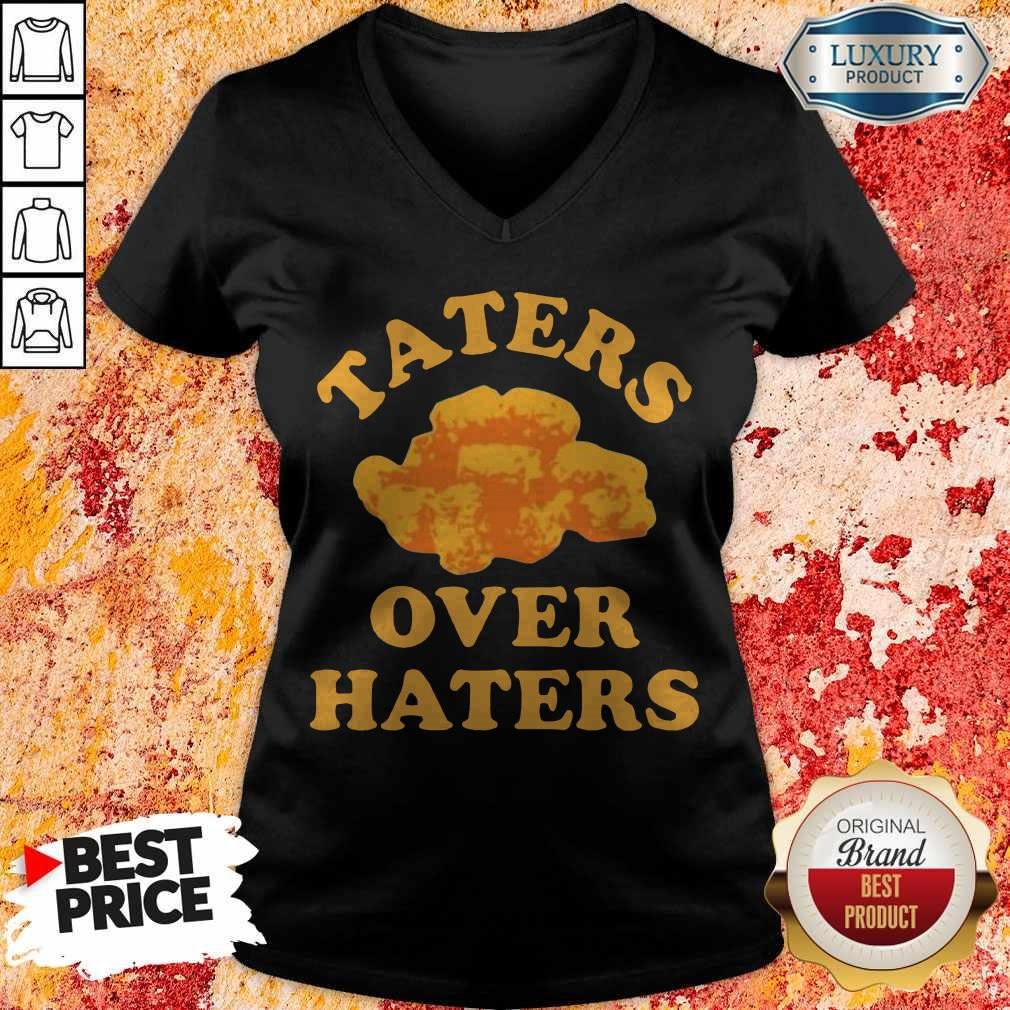 Awesome Taters Over Haters V-neck