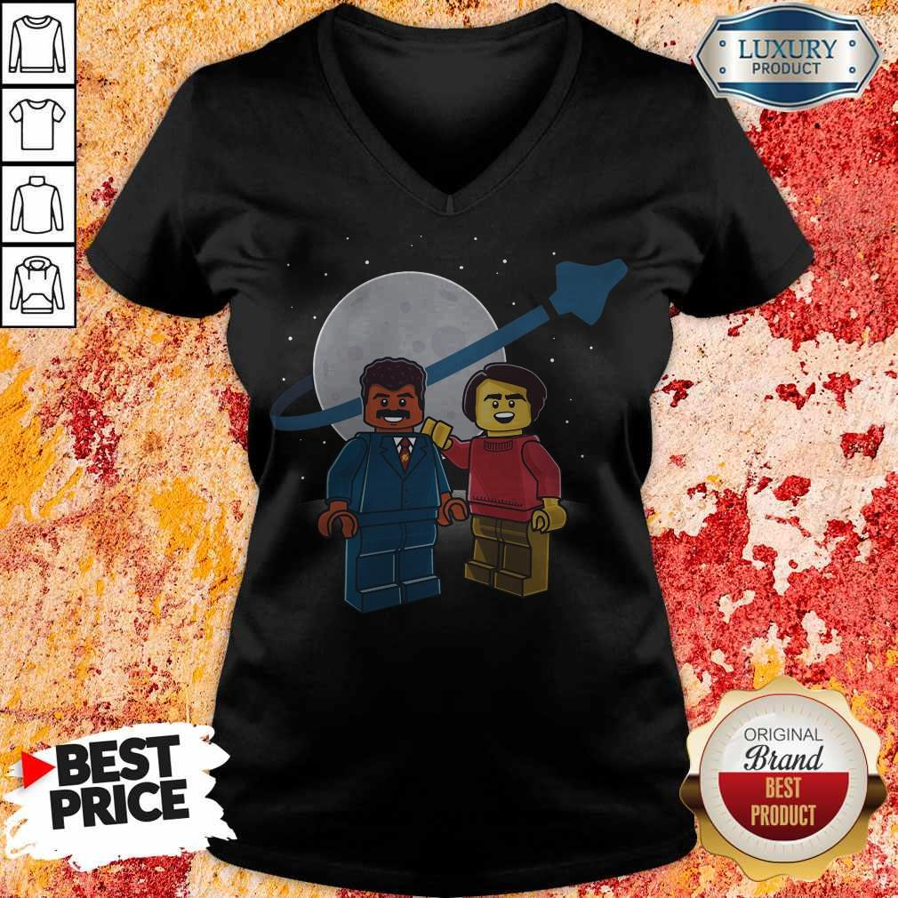 Awesome We Are Star Stuff Lego V-neck