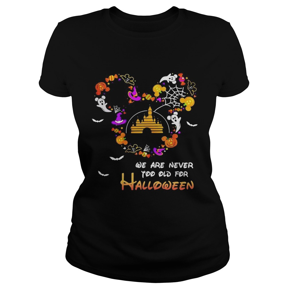 Disney We Are Never Too Old For Halloween Classic Ladies