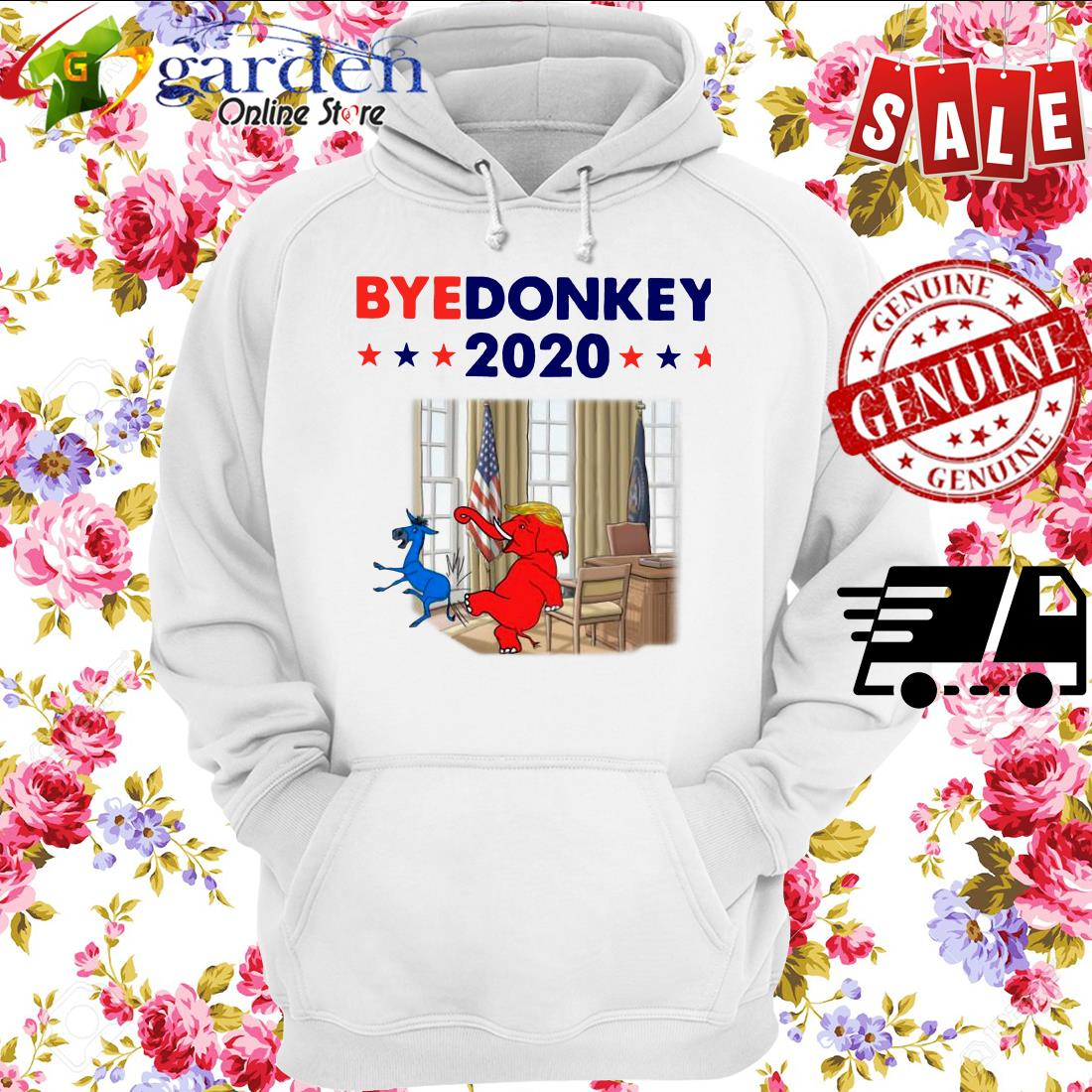 Elephant Trump Bye Donkey 2020 hoodie