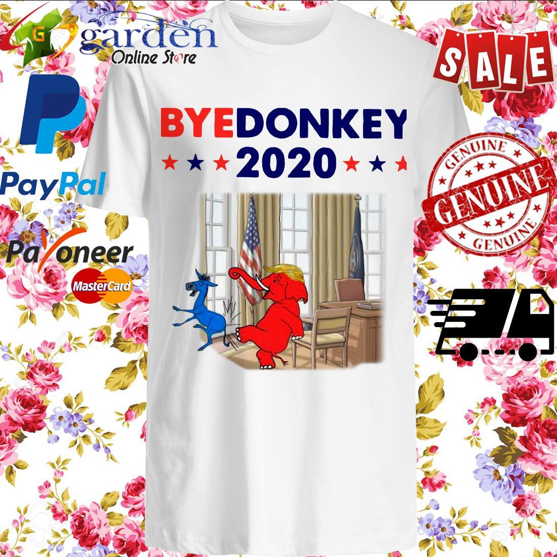 Elephant Trump Bye Donkey 2020 Shirt