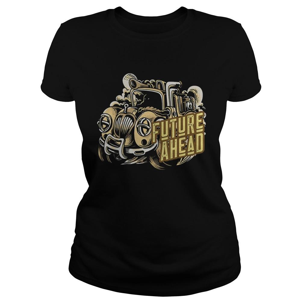 Future Ahead Steam Powered Truck Classic Ladies
