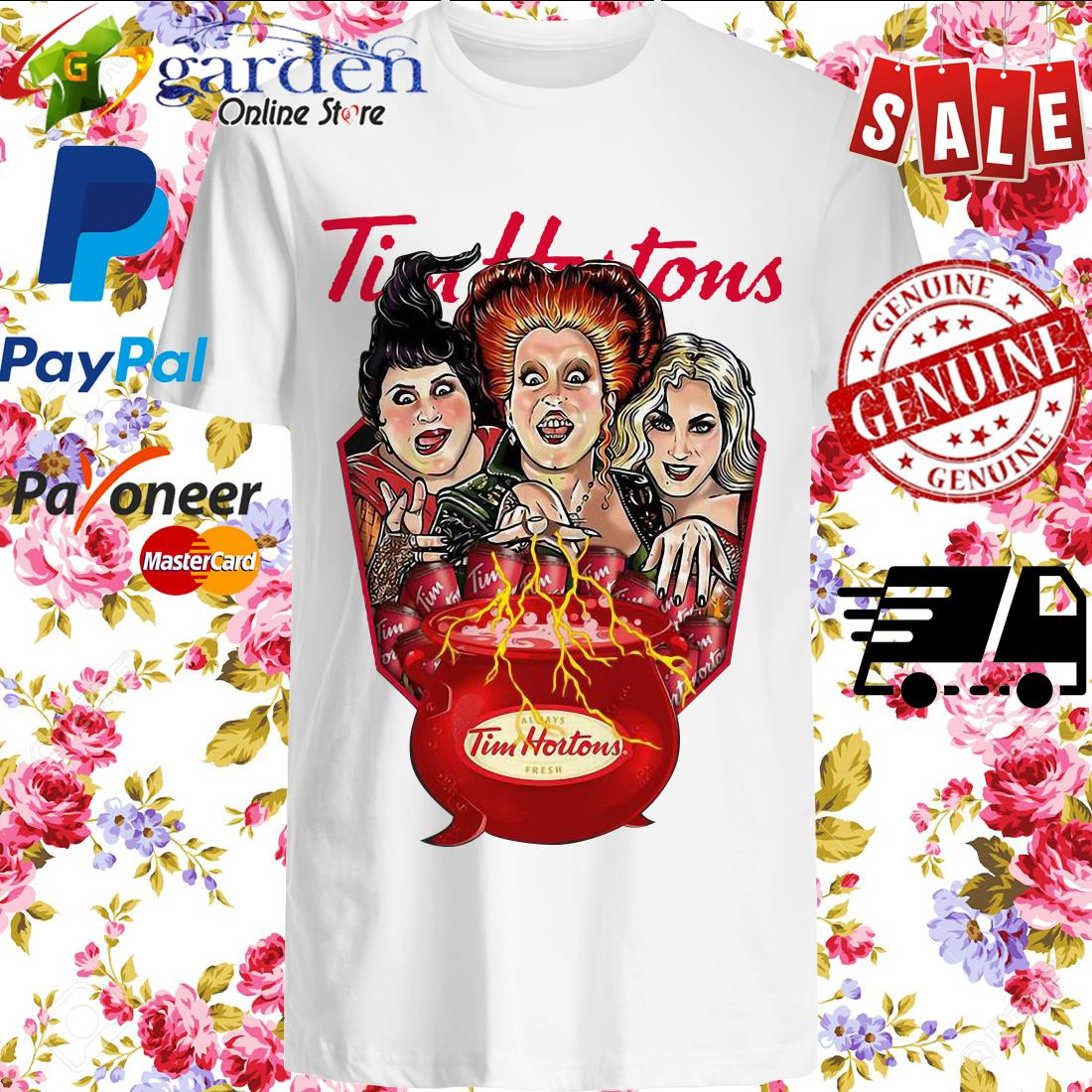 Hocus Pocus Tim Hortons Fresh Shirt