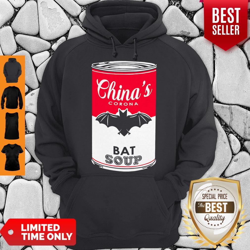 Funny China's Corona Bat Soup Hoodie