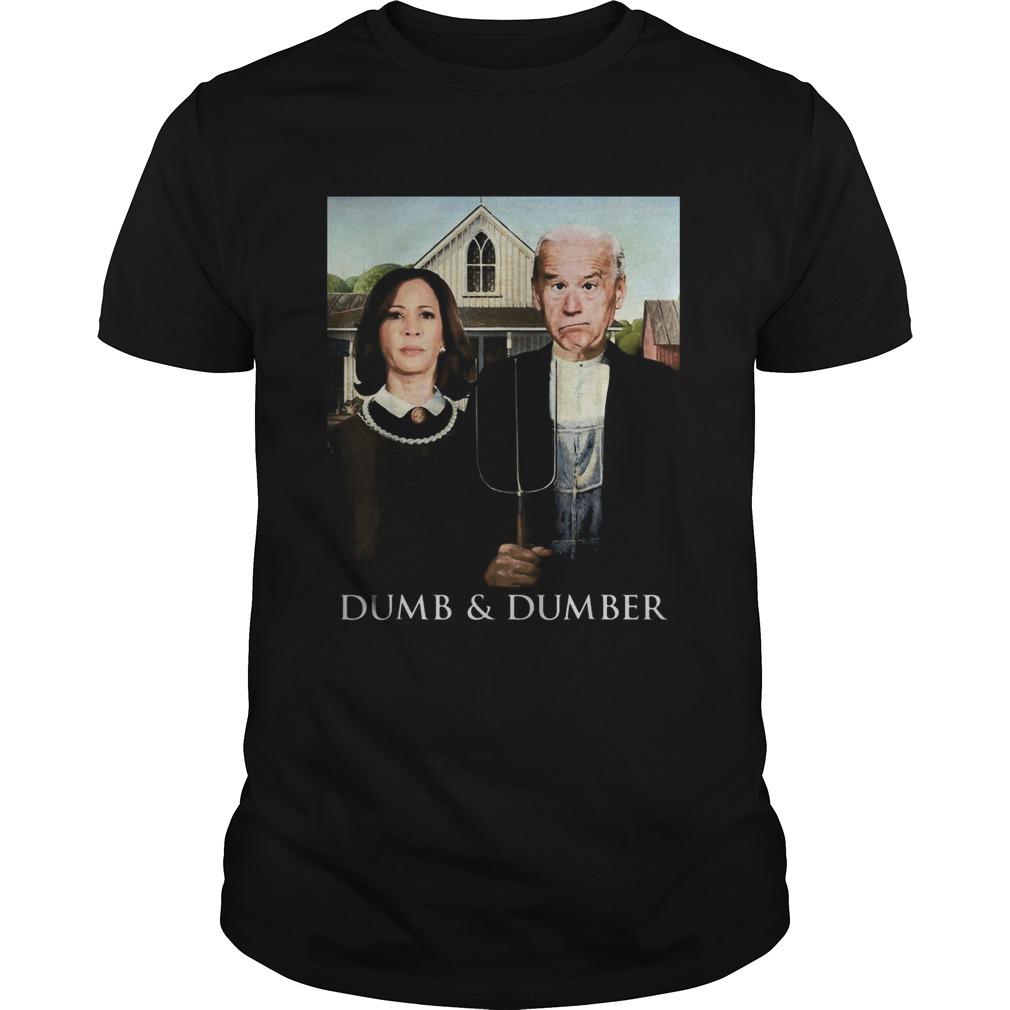 Joe Biden Kamala Harris Dumb and Dumber 2020 Unisex