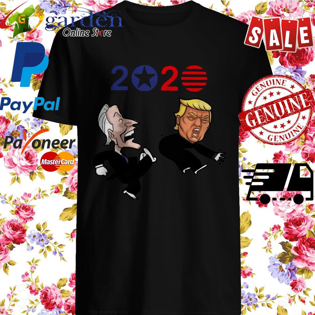 Joe Biden kick Donald Trump American 2020 shirt