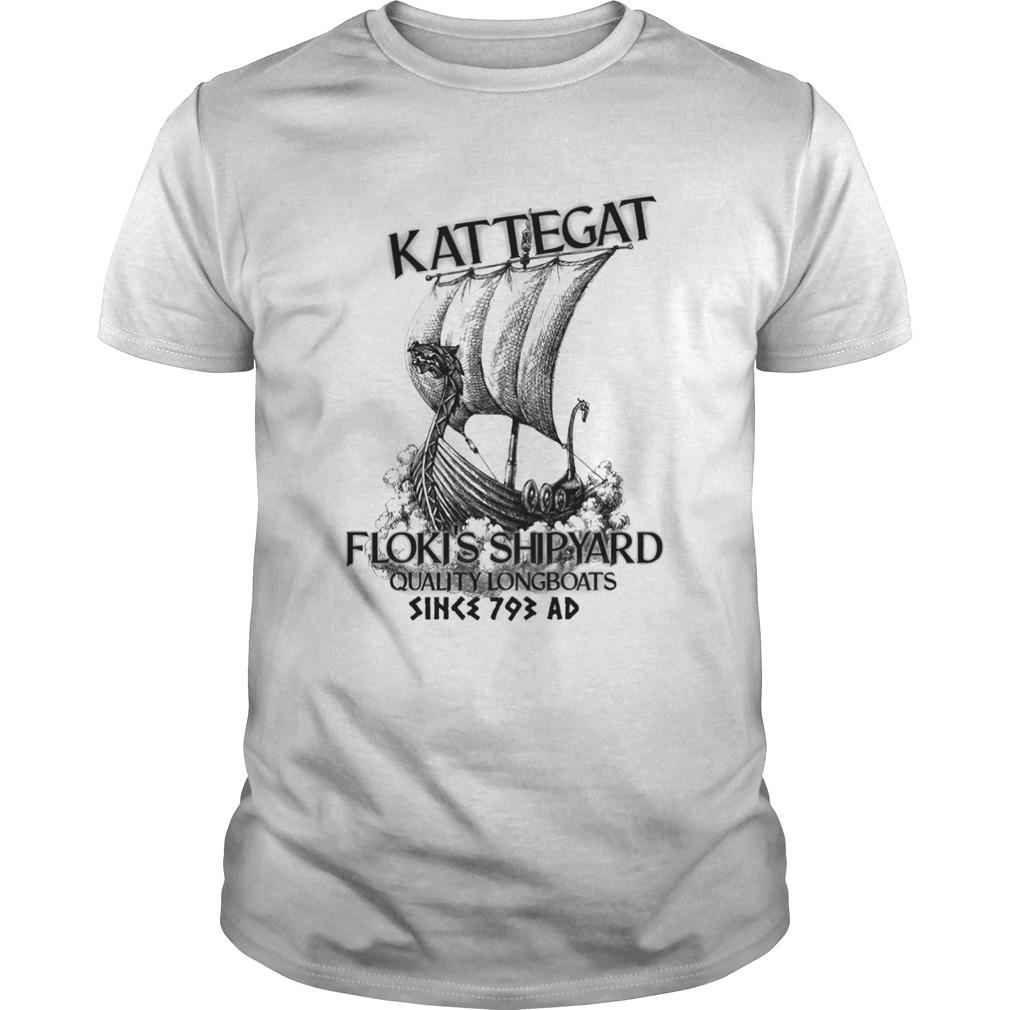 Kattegat Flokis Shipyard Quality Longboats Unisex