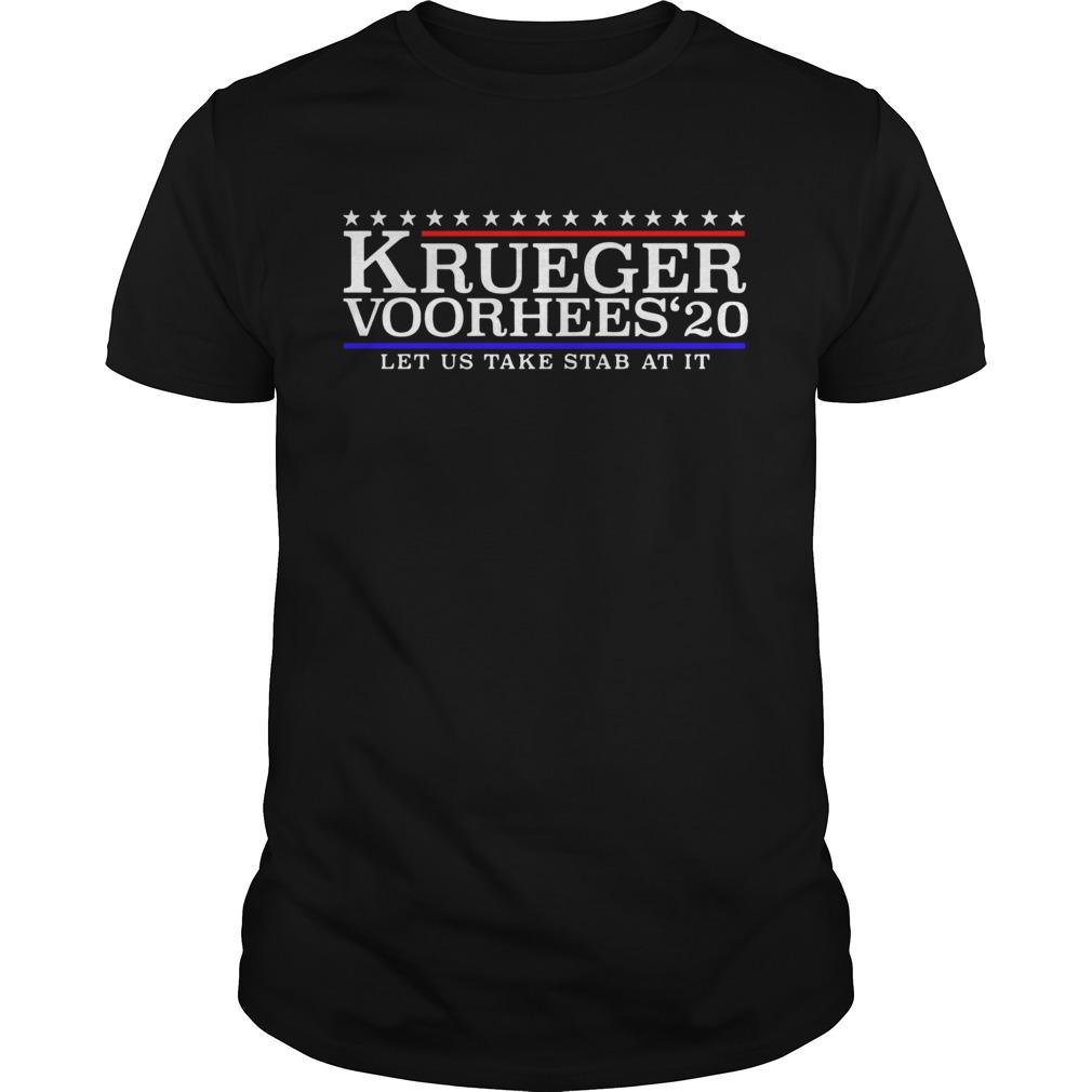 Krueger Voorhees 20 Let Us Take Stab At It Unisex