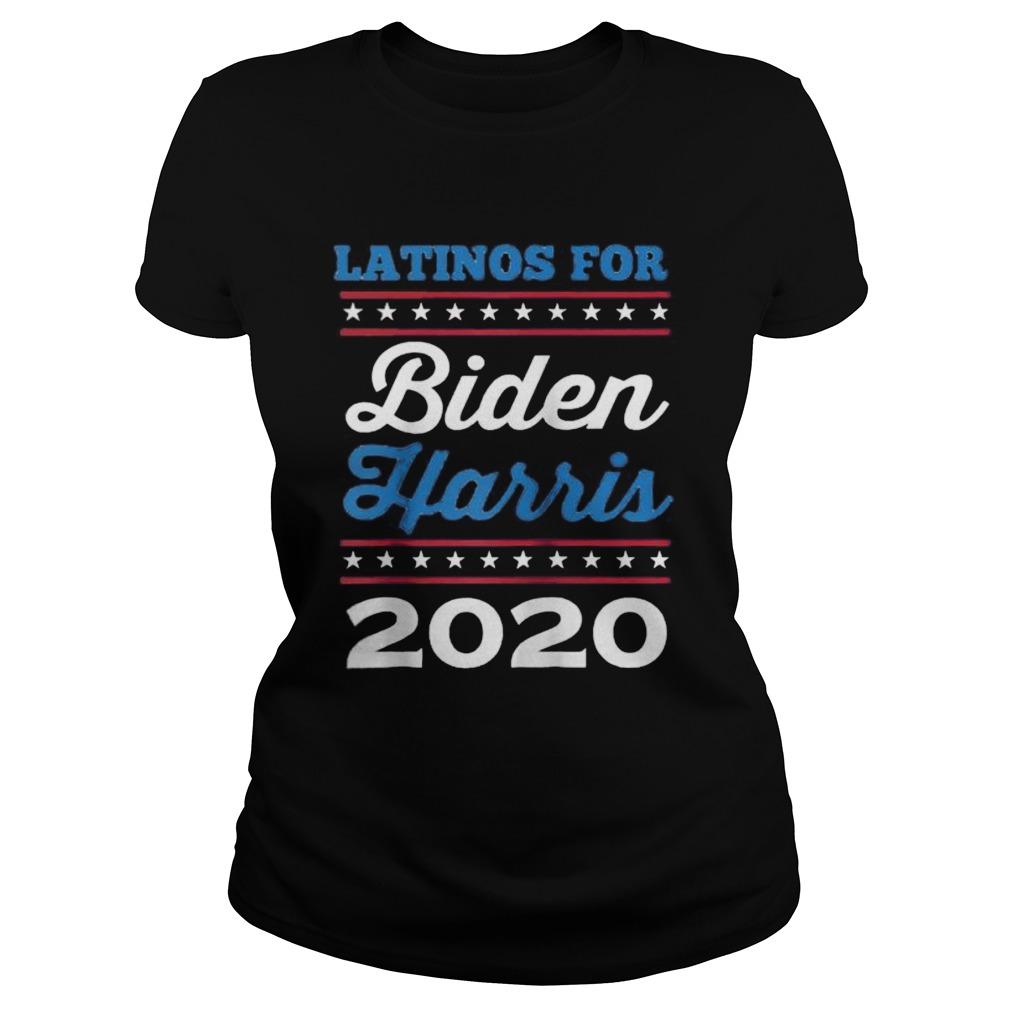Latinos for Biden Harris 2020 Classic Ladies