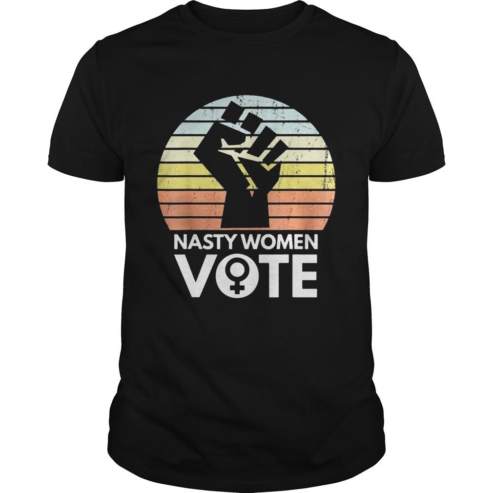Nasty women vote biden harris 2020 black lives matter vintage retro Unisex