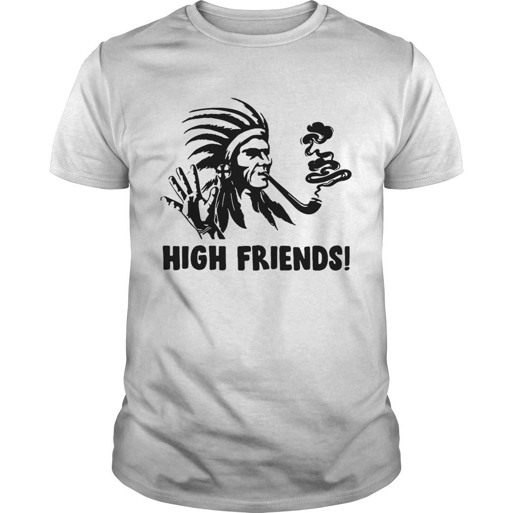 Native America High friends Unisex