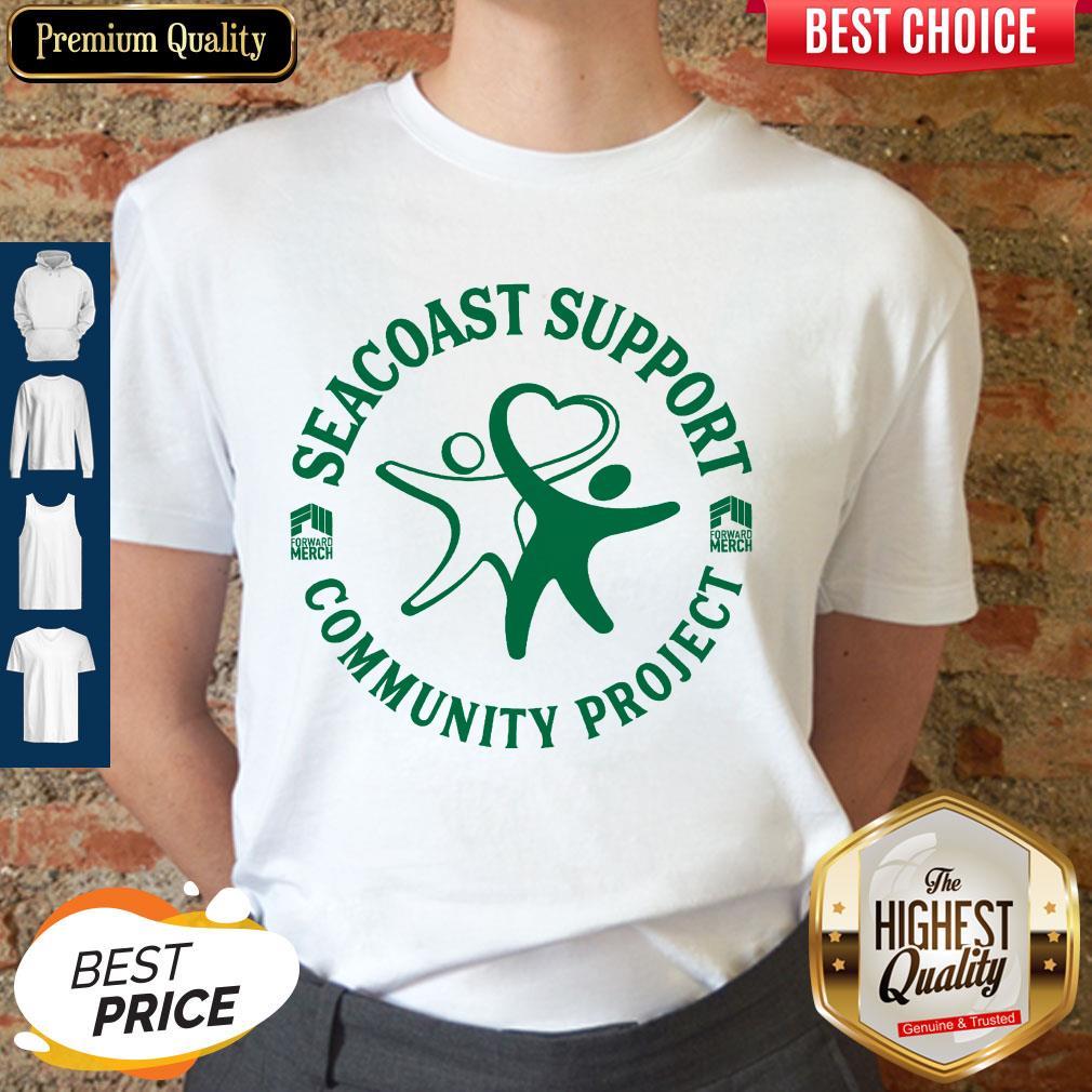 Nice Forward Merch Seacoast Support Community Project Shirt