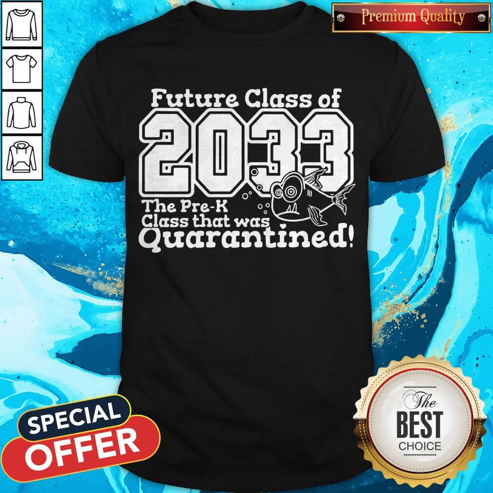 Nice Future Class Of 2033 The Pre-k Class That Was Quarantined Shirt