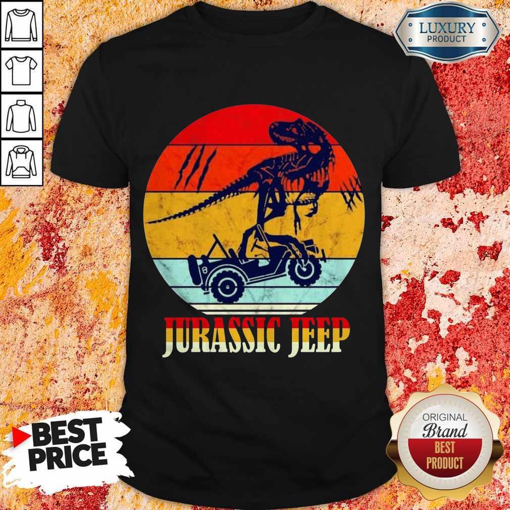 Nice Jurassic Jeep Vintage Halloween Shirt