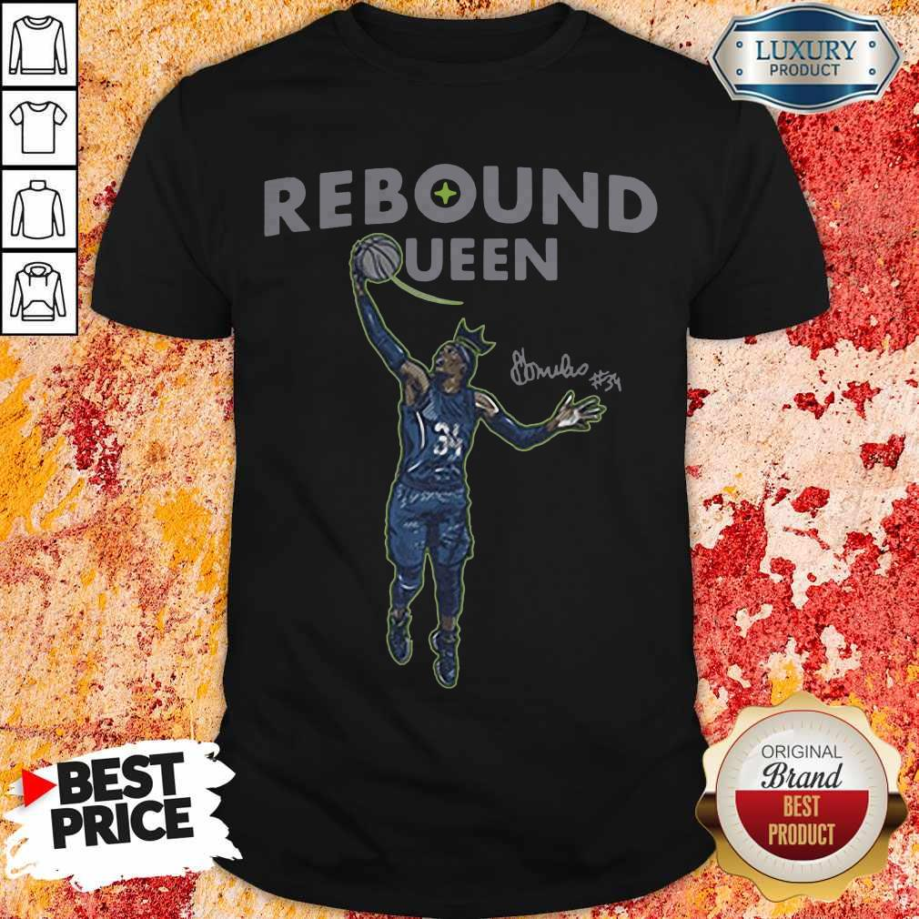 Nice Sylvia Fowles Rebound Queen Official Shirt