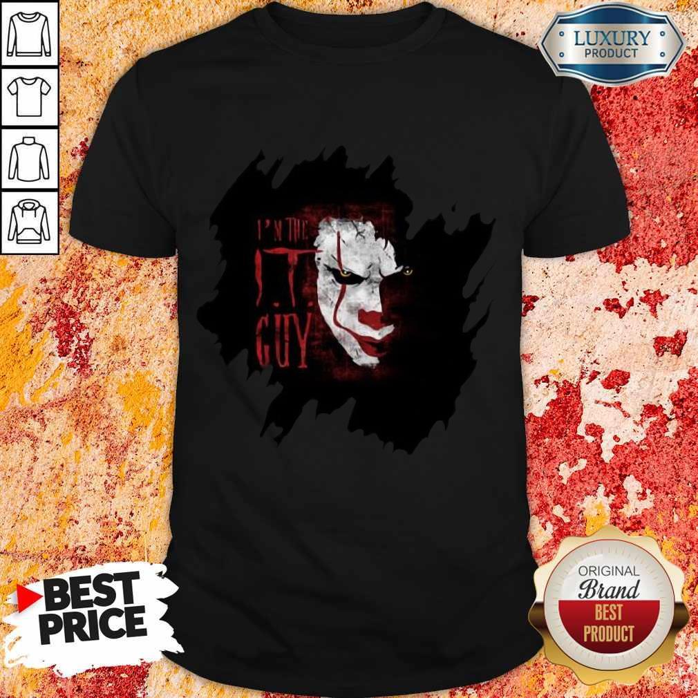 Nice The IT Guy Scary Halloween Classic Shirt