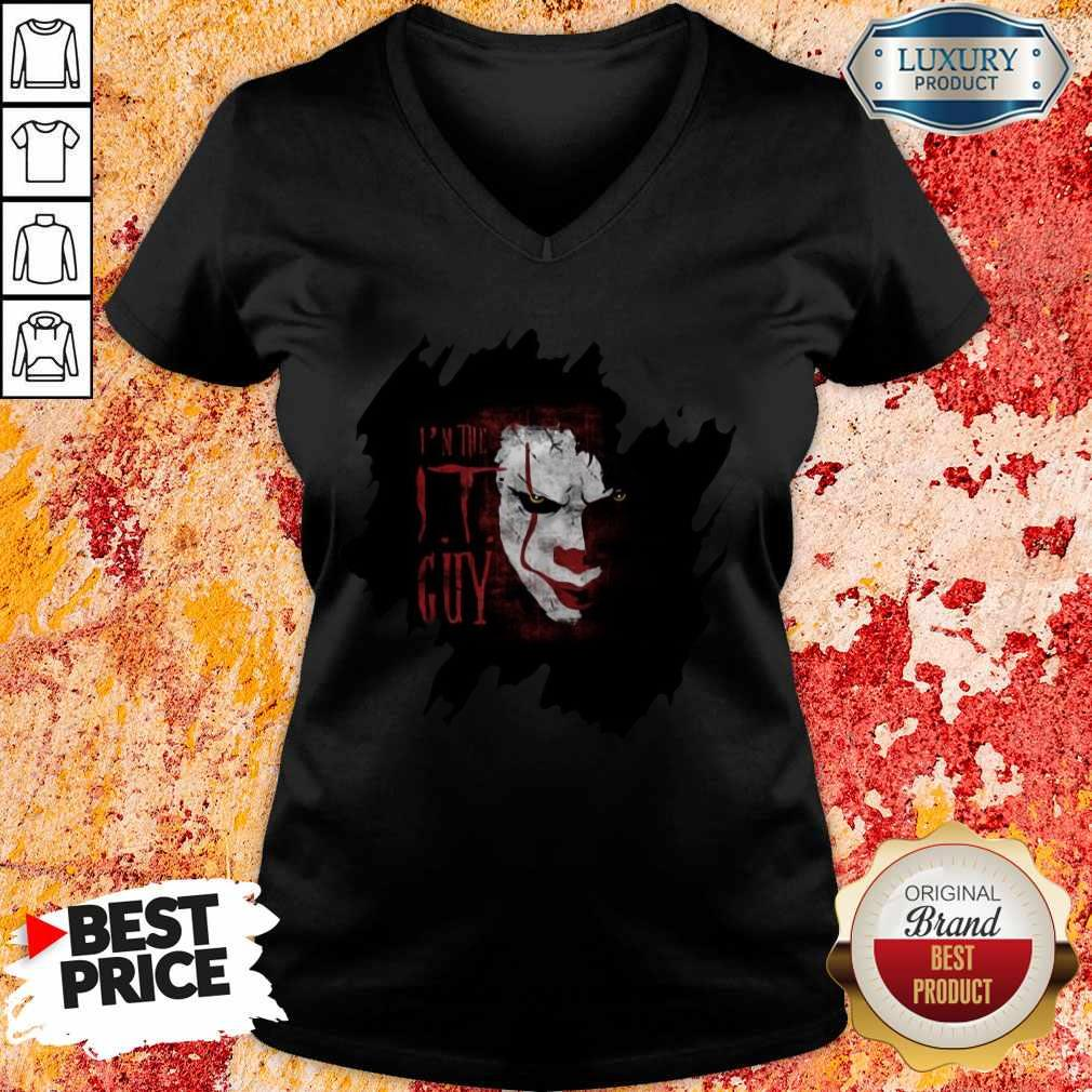 Nice The IT Guy Scary Halloween Classic V-neck