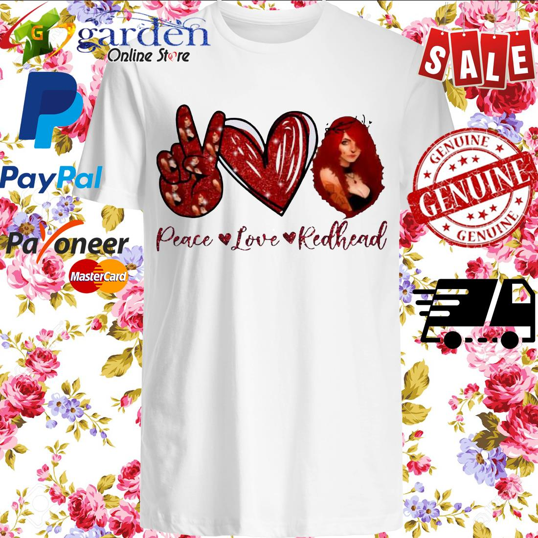 Peace Love Redhead Shirt